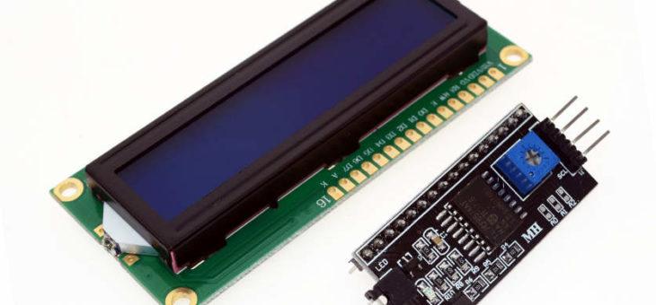 Sterownik do HD44780 na I2C