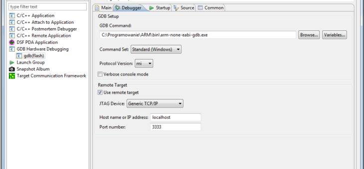 Eclipse Helios + STM32 + OpenOCD + jtagkey